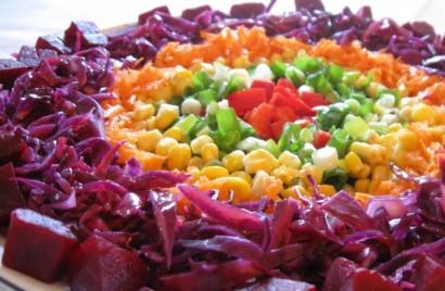 Gökkuşağı Salatası Kaç Kalori