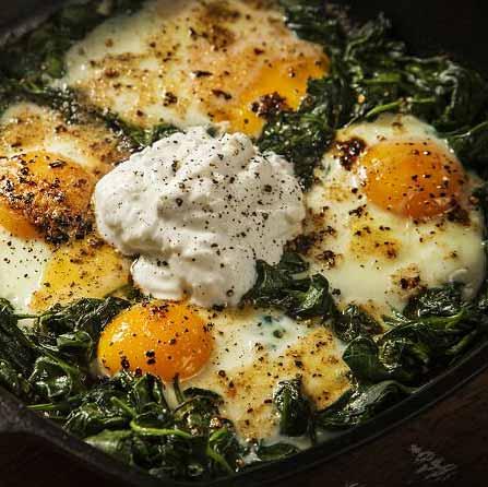 Kıymalı Yumurtalı Ispanak Kaç Kalori