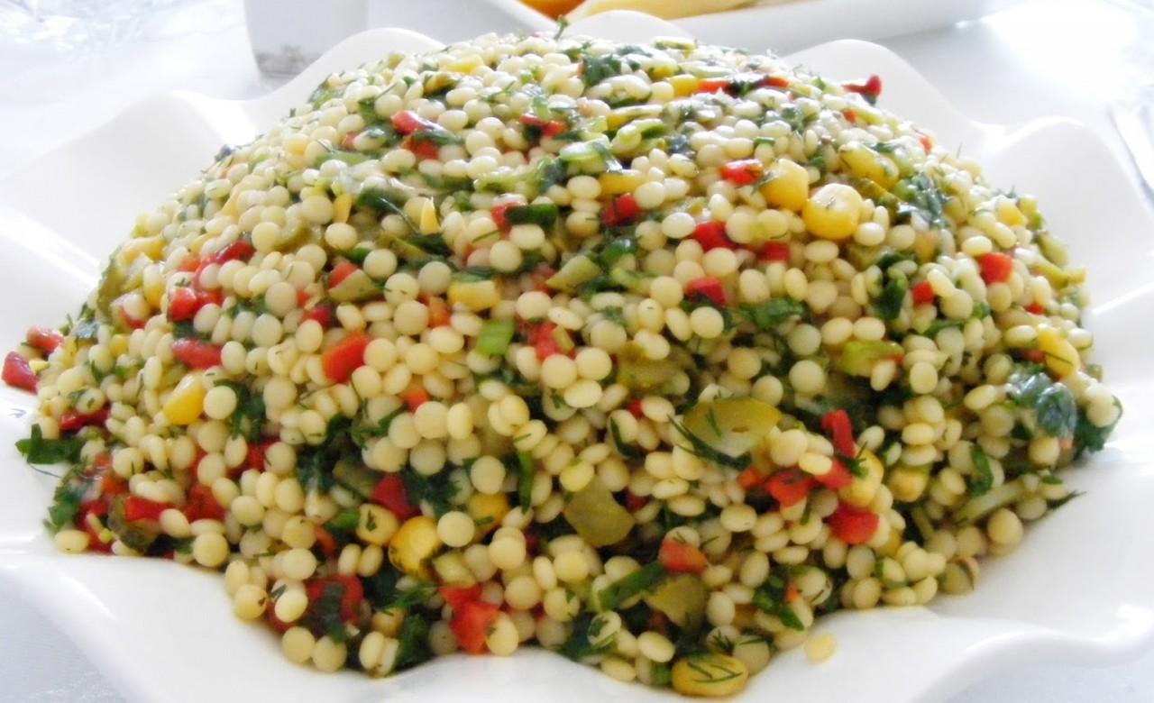 Yeşil Mercimekli Kuskus Salatası Kaç Kalori