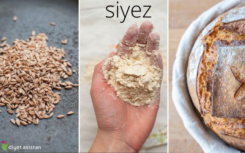 Siyez Unu, Siyez Buğdayı ve Siyez Ekmeği Besin Değerleri Nedir? Siyez Unu Faydaları Nelerdir?