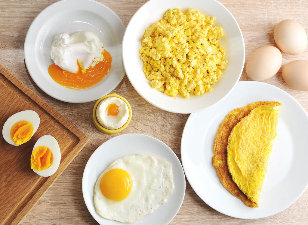 En Sağlıklı Yumurta Pişirme Yöntemleri